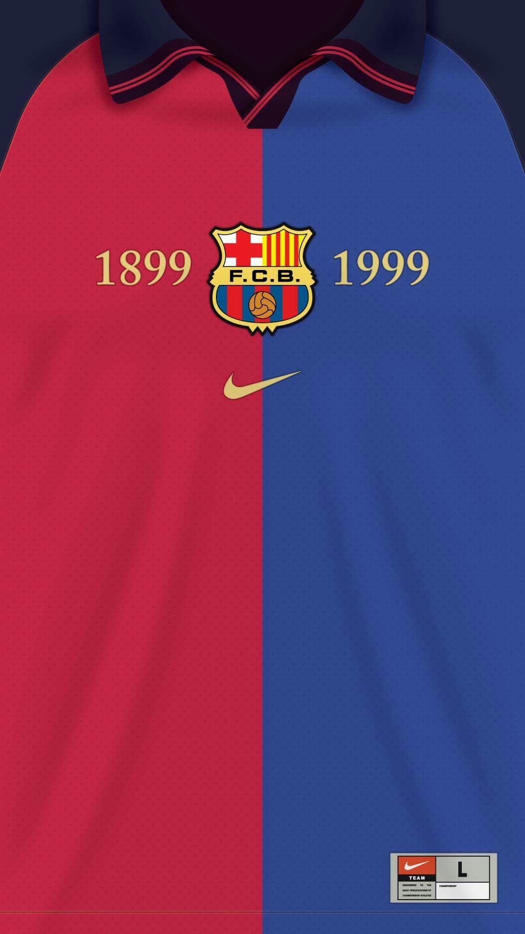 e1ad0016088 Jersey Fc Barcelona 1999