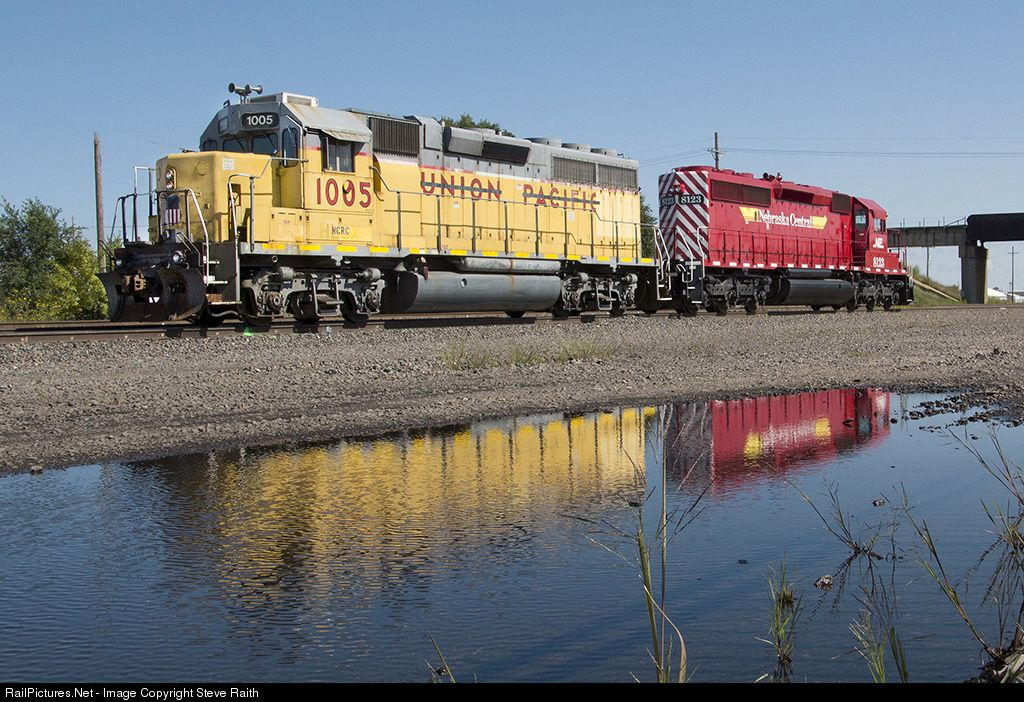 RailPictures.Net Photo: NCRC 1005 Nebraska Central EMD GP40-2 at Grand Island, Nebraska by Steve Raith