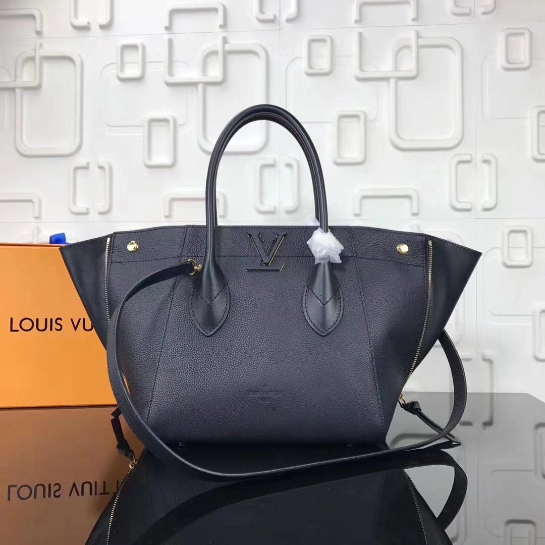 Replica Louis Vuitton LV FREEDOM M54843 handbag Noir ID 36138 ... 5def564397bcc