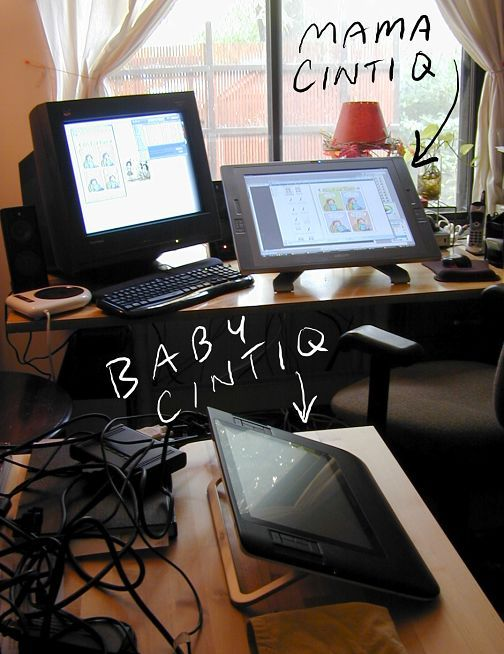 Cintiq Set Up