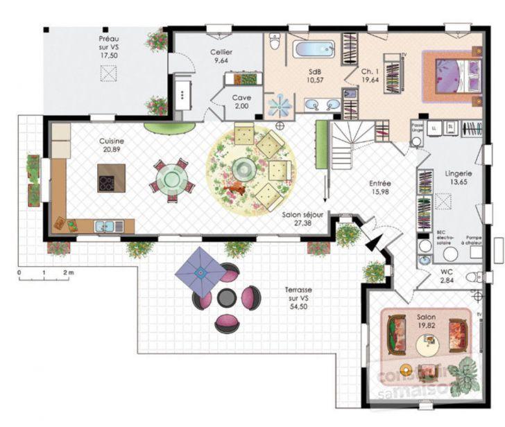 Plan Cuisine Ouverte Home Design Pinterest