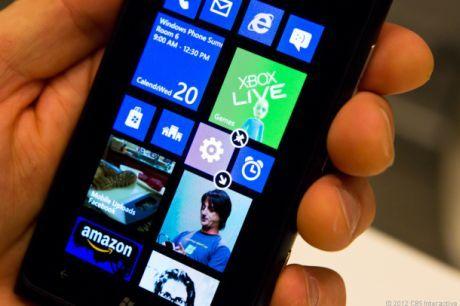 これがWindows Phoneの新しいスタート画面だ。