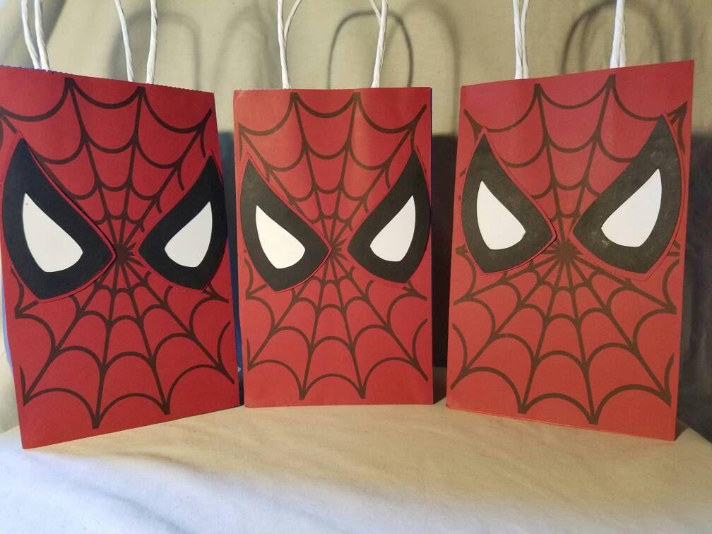 VENTA Spiderman parte Favor bolsas todos de cualquier