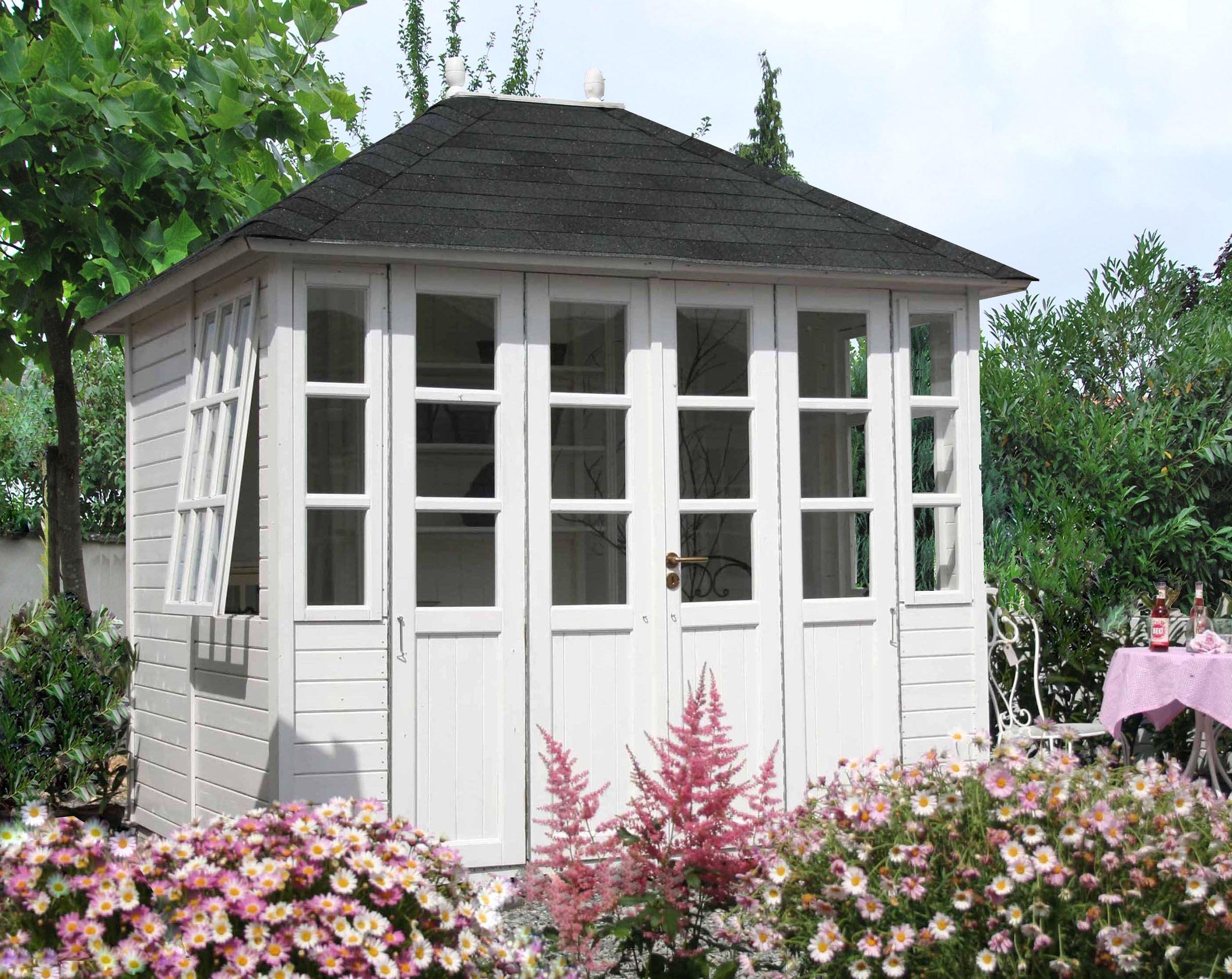 gartenhaus modell holly englische gartenh user. Black Bedroom Furniture Sets. Home Design Ideas