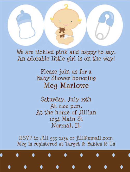 Baby Shower Invitations For Boys Baby Boy Shower Invitations