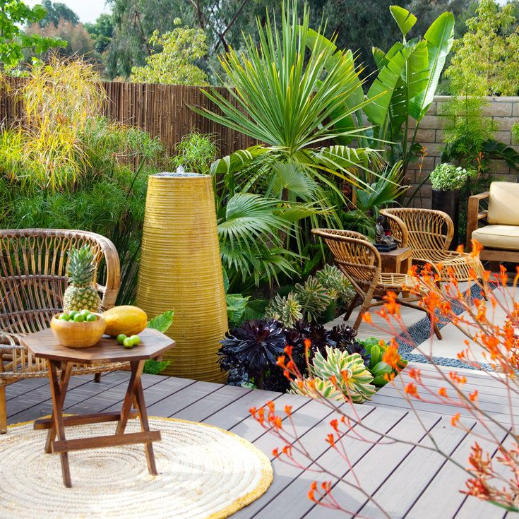 Landscaping without Grass | Low maintenance garden design ...