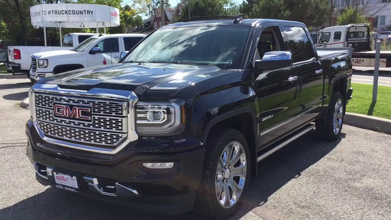 2018 Gmc Sierra 1500 4wd Crew Cab Denali Retractable Steps 22 Inch