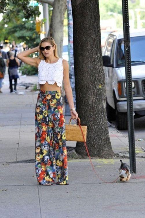 Descubre Cómo Combinar una Falda de Flores | Moda estilo