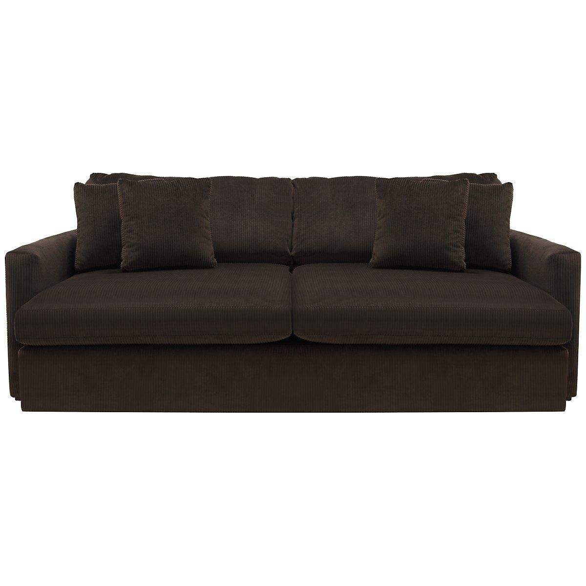 Admirable Tara2 Dark Brown Microfiber Sofa Home Sofa Microfiber Frankydiablos Diy Chair Ideas Frankydiabloscom
