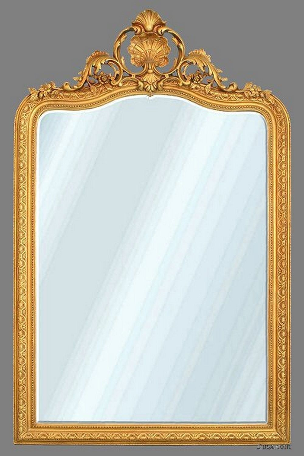Manon French Rococo Gold Bevelled Mirror : For sale at www.DUSX.com ...