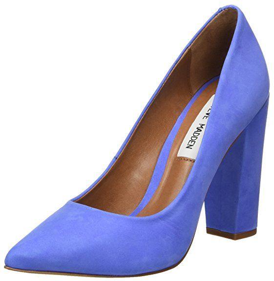 Steve Madden Primpy Pump, Escarpins Bout Ouvert Femme, Violet (Lavender),  37 EU bc0399431017