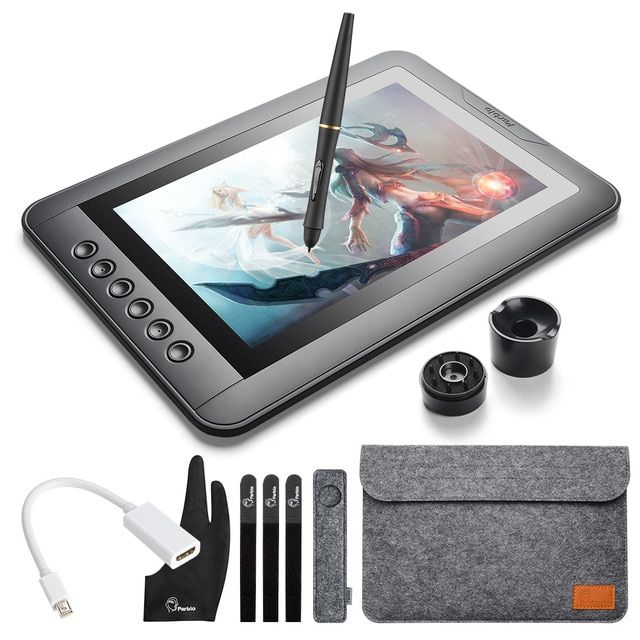 Parblo Mast10 10.1 inches Graphic Monitor with Shortcut