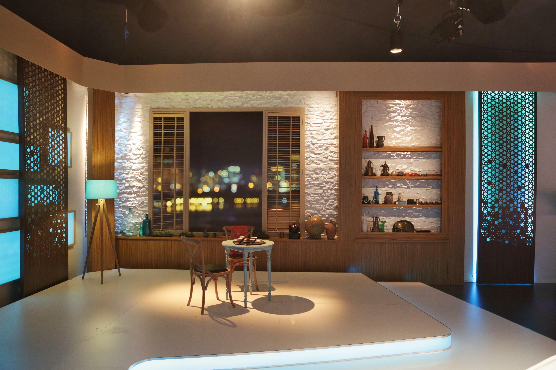 TV set Design, woman programme, Talk show studio, Dekor tasarım ...