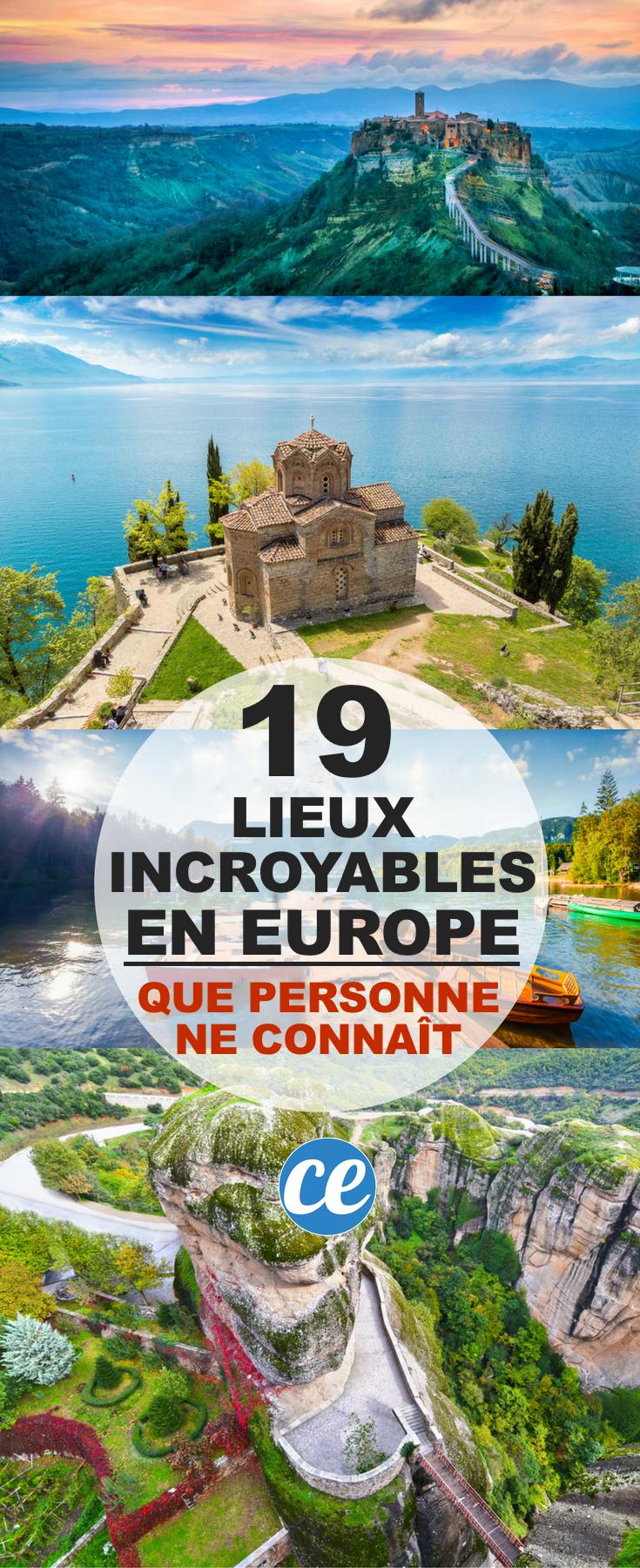 19 Lieux Incroyables En Europe Que PERSONNE Ne Connaît. - #¿Qué #19 #Connaît. #en #europe #incroyables: #Lieux #Ne #personne