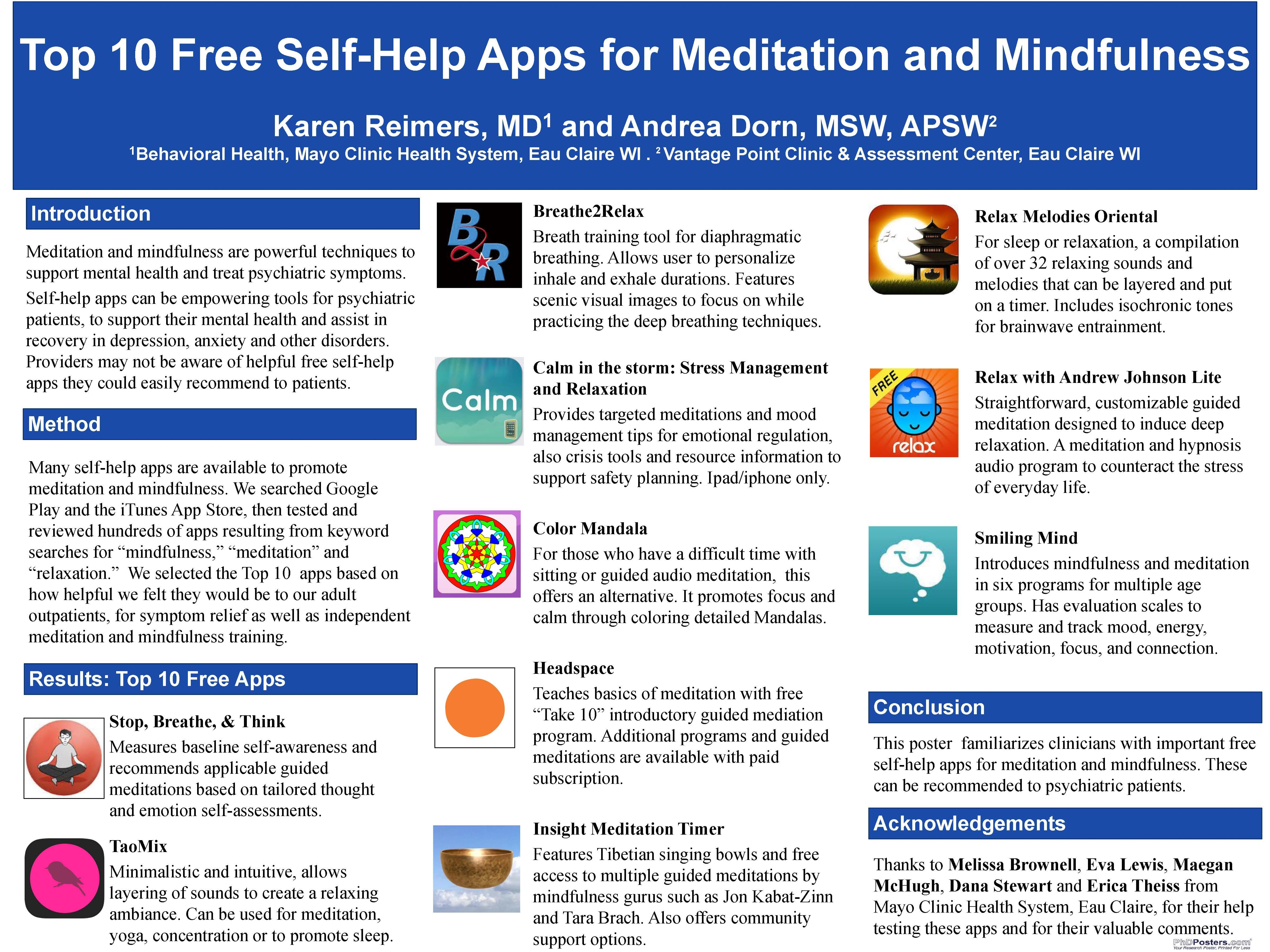 Top 10 apps for mindfulness and meditation Meditation