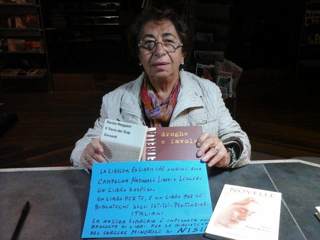@LibroSospeso per i ragazzi detenuti #LiberidiLeggere Prof.SinaMedici