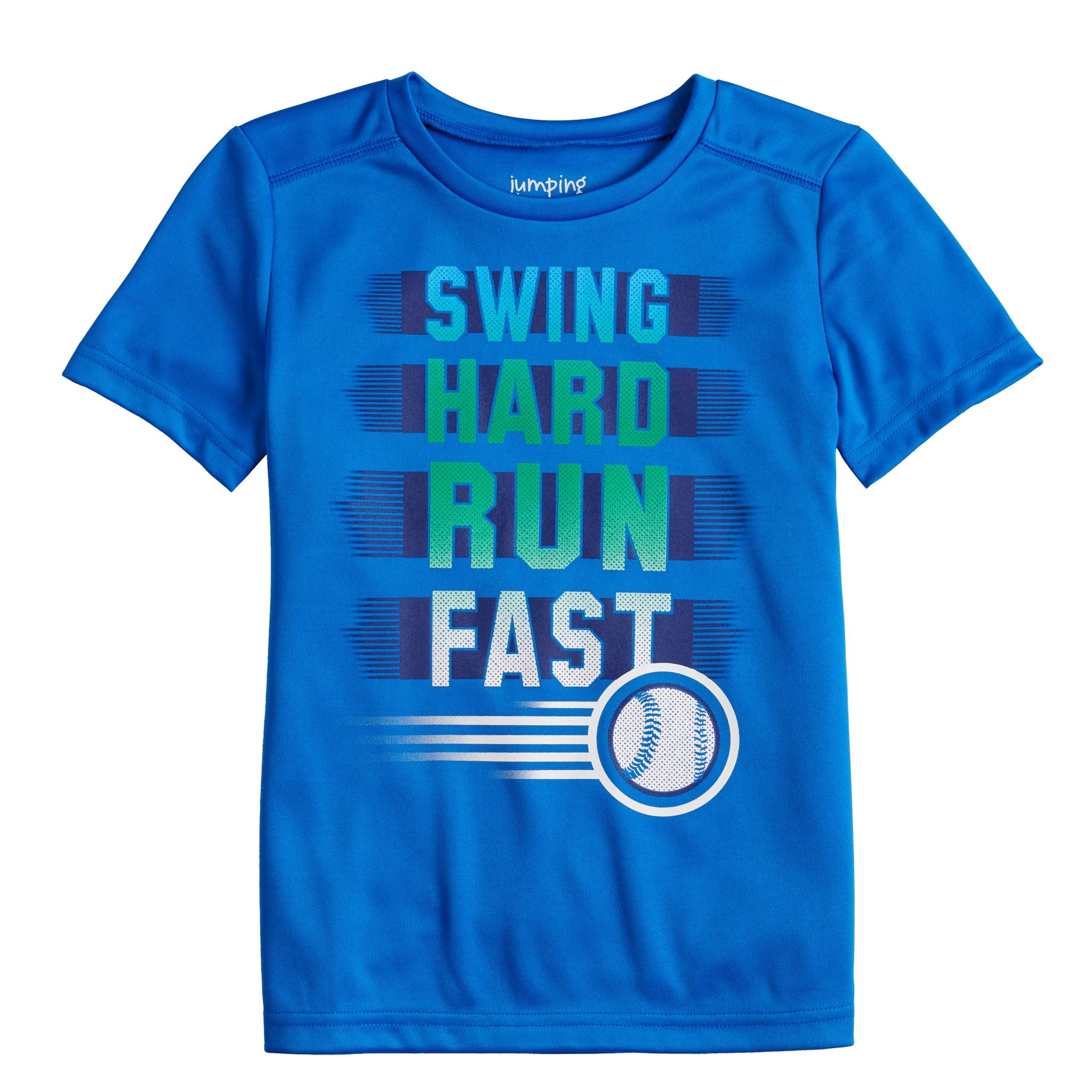 Boys 4 12 Jumping Beans Active Graphic Tee Graphic Tees Tees Moisture Wicking Fabric