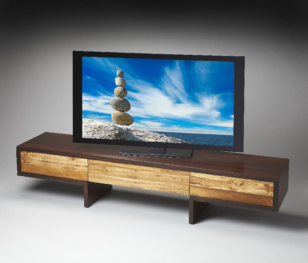 Media Console Long Enough Too Low Modern Entertainment