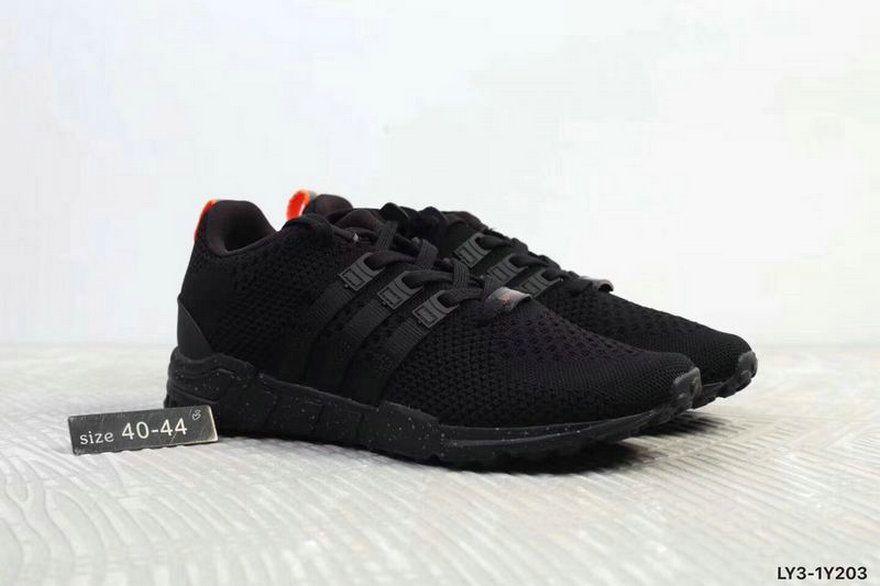 778afe7e74ad Adidas EQT Support Rf Primeknit Coal Black Orange Grey New Shoe ...