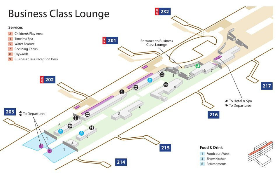 Emirates Terminal 3 Business Class Lounge Map Lounges: Dubai Airport Map At Infoasik.co