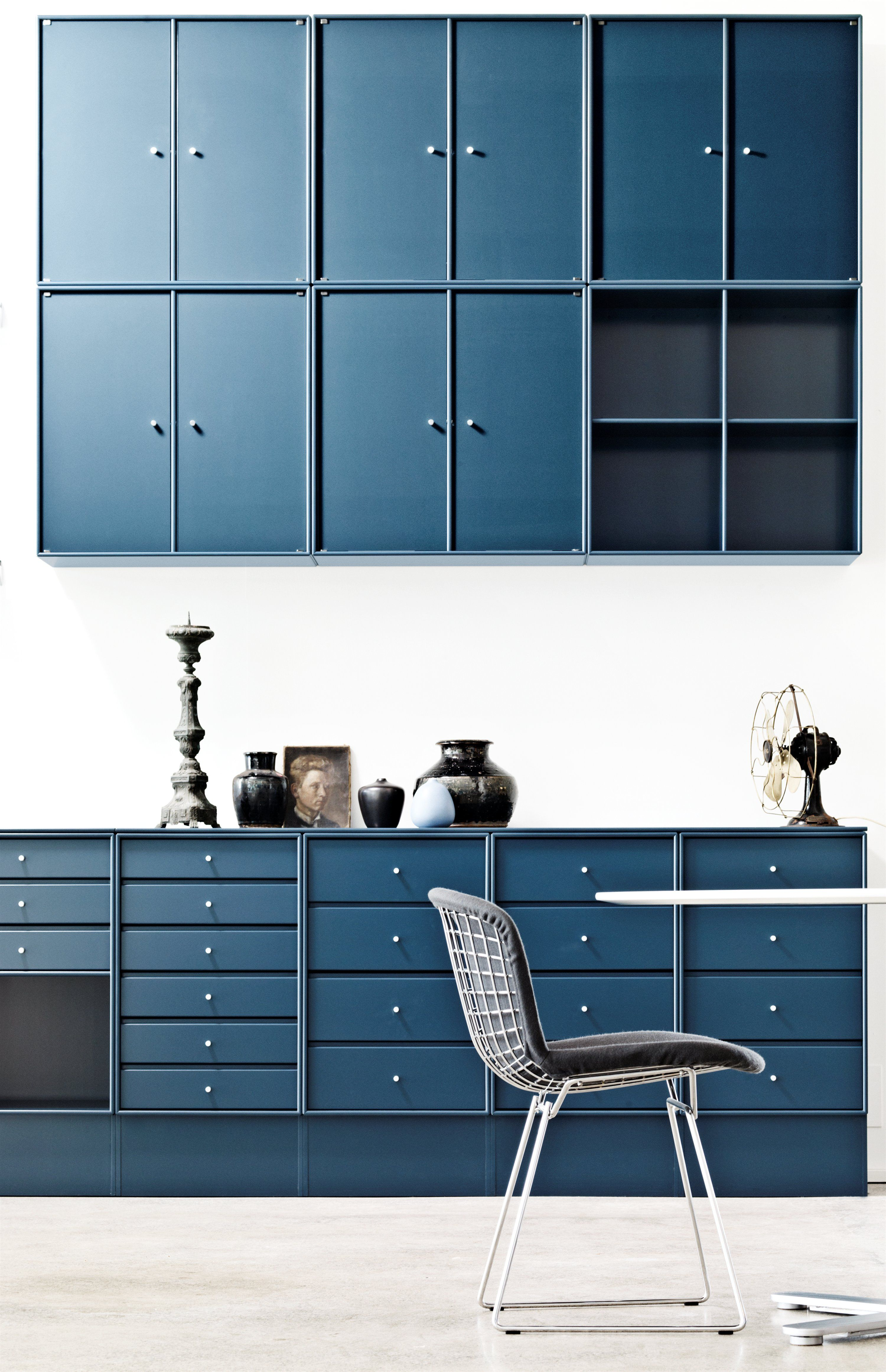 montana kitchen in blue montana furniture danish design