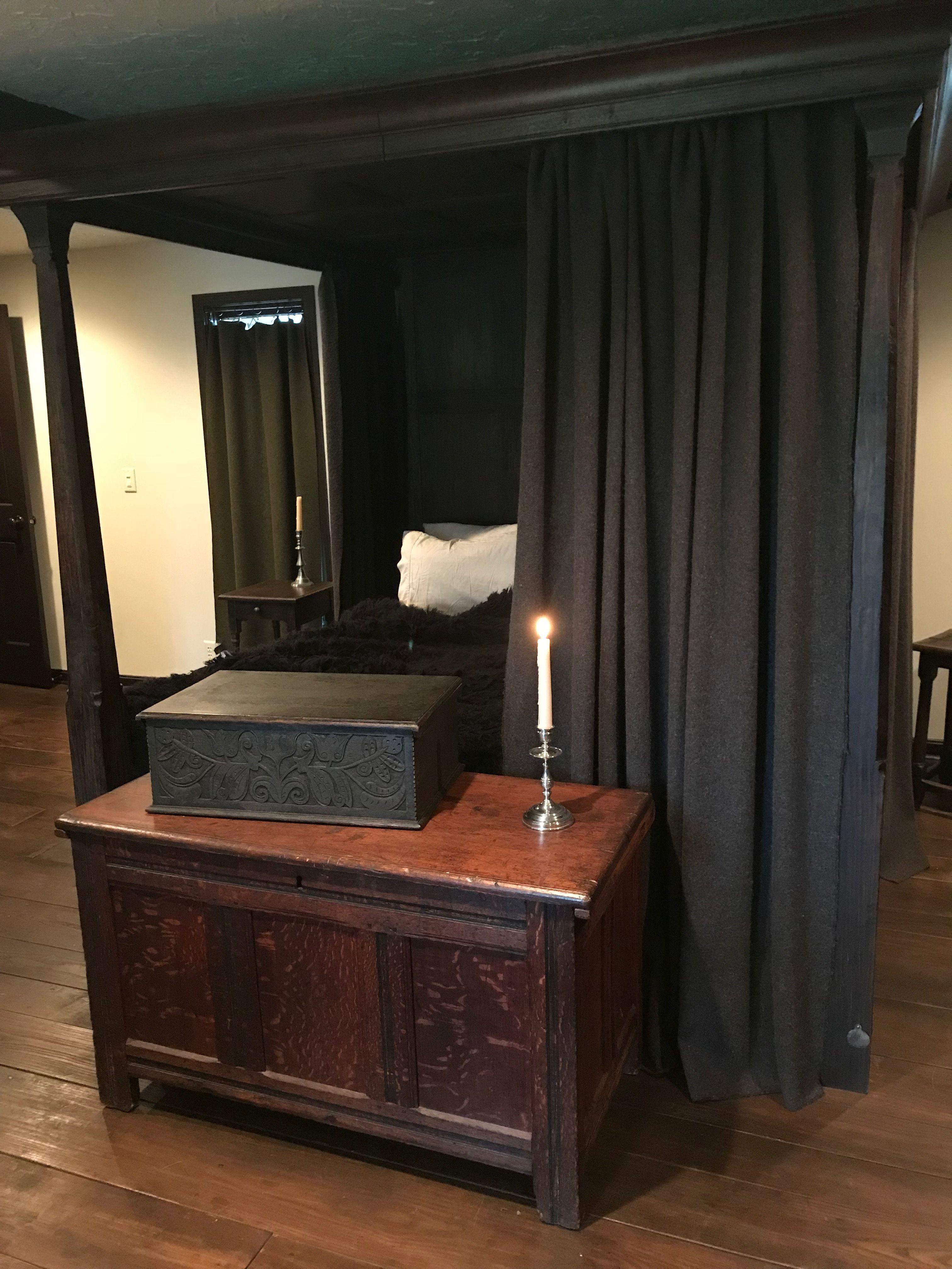 Master Bed Chamber | American bedroom, Primitive bedroom ...