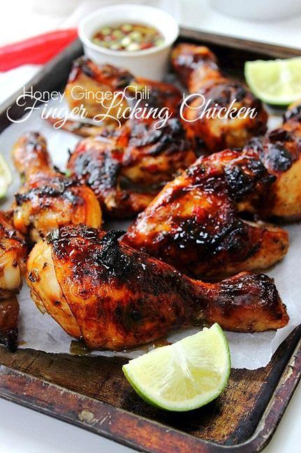 Crispy ginger chili chicken!!!! Finger licking goodness!!! #paleo #summer #barbecueseason
