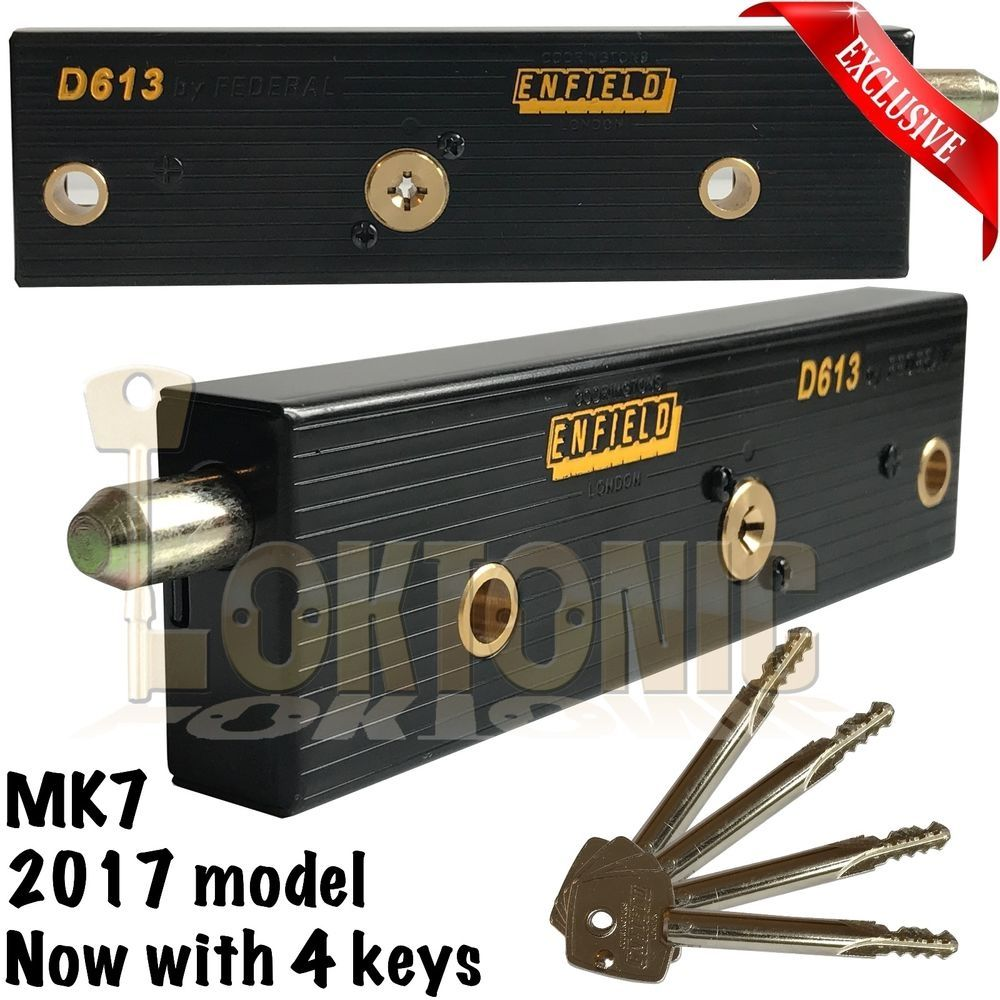 Enfield Up And Over Garage Door Locks High Security