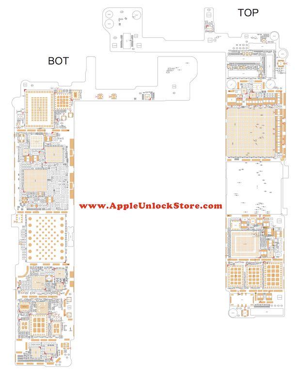 iPhone 6S Circuit Diagram Service Manual Schematic в 2019