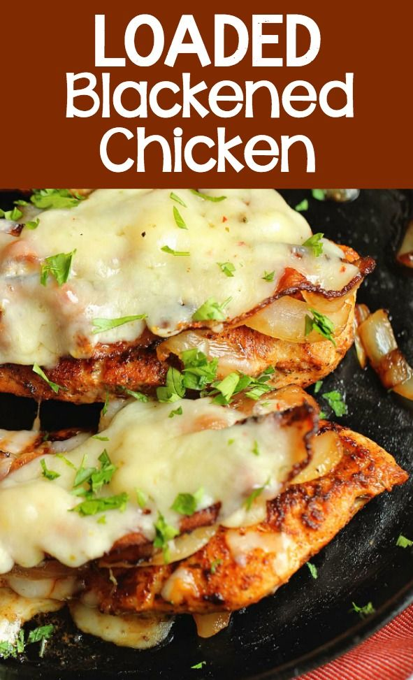 Loaded Blackened Chicken images