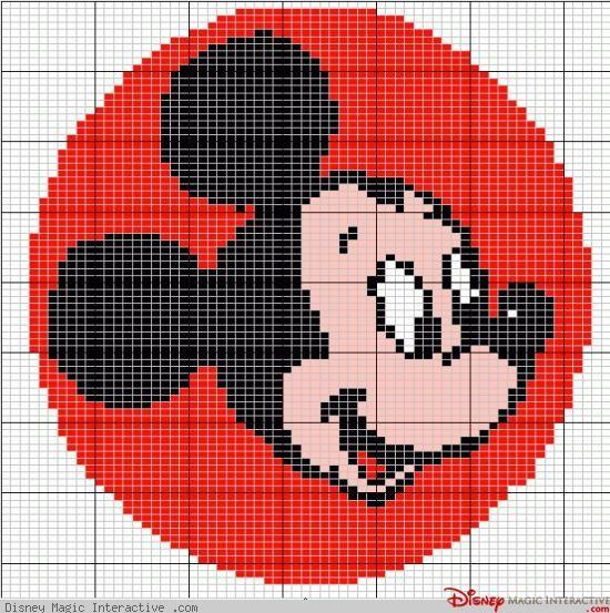 Grilles de point de croix Disney - Page 2 - Disney Magic Interactive | Point de croix, Tricot et ...