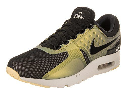 best cheap b3817 c7788 Nike Mens Air Max Zero SE BlackBlackLightBone Running Shoe 95 Men US --  Check this
