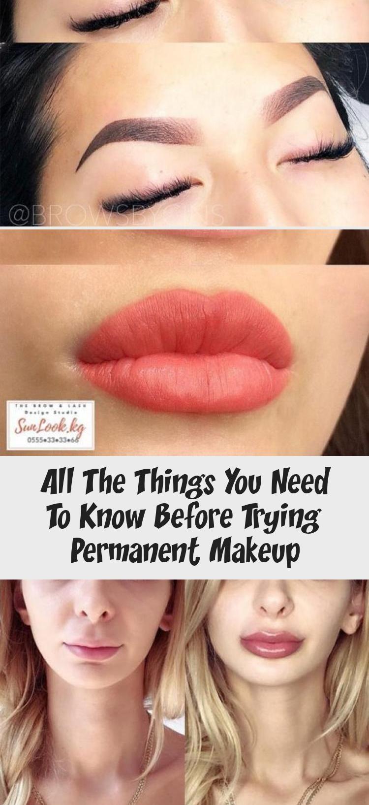 permanentmakeup aftercare Permanent makeup, Cosmetics