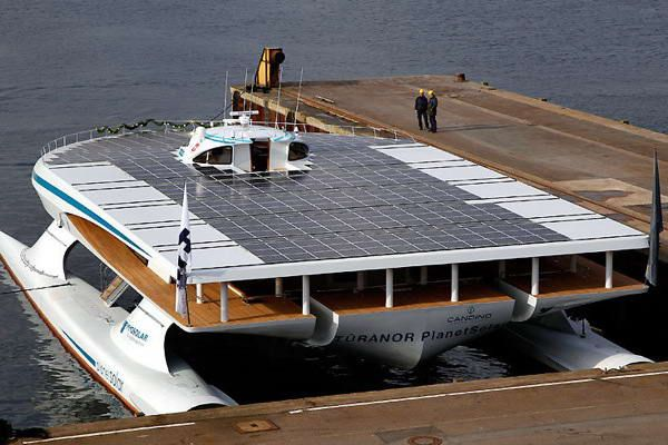 Largest Solar Powered Boat Will Soon Arrive In Miami With Images