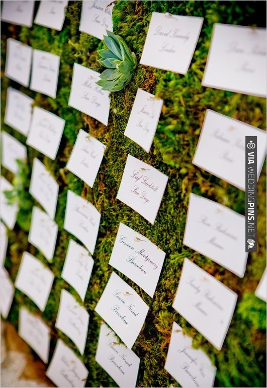 Escort Cards Wedding