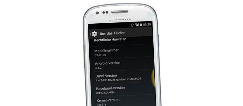 How To Install Android 4 4 2 Omnirom On Galaxy S3 Mini I8190