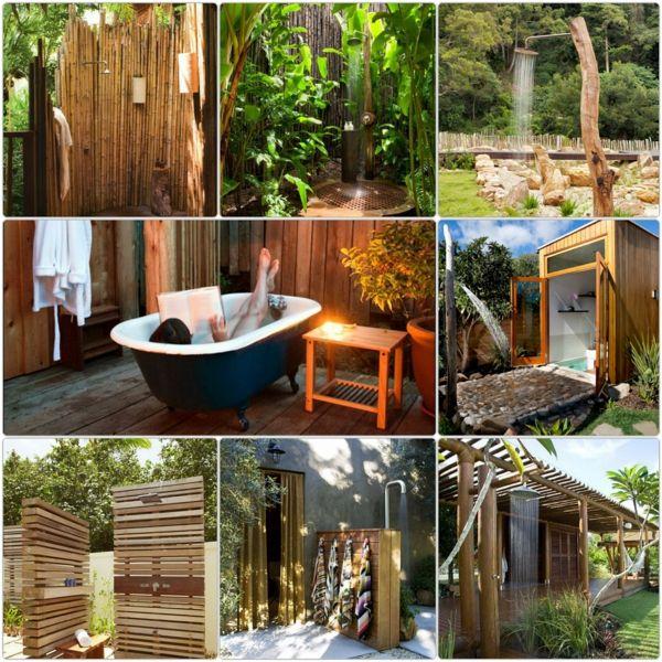 badezimmer im freien gestalten Pool Pinterest - neue badezimmer trends