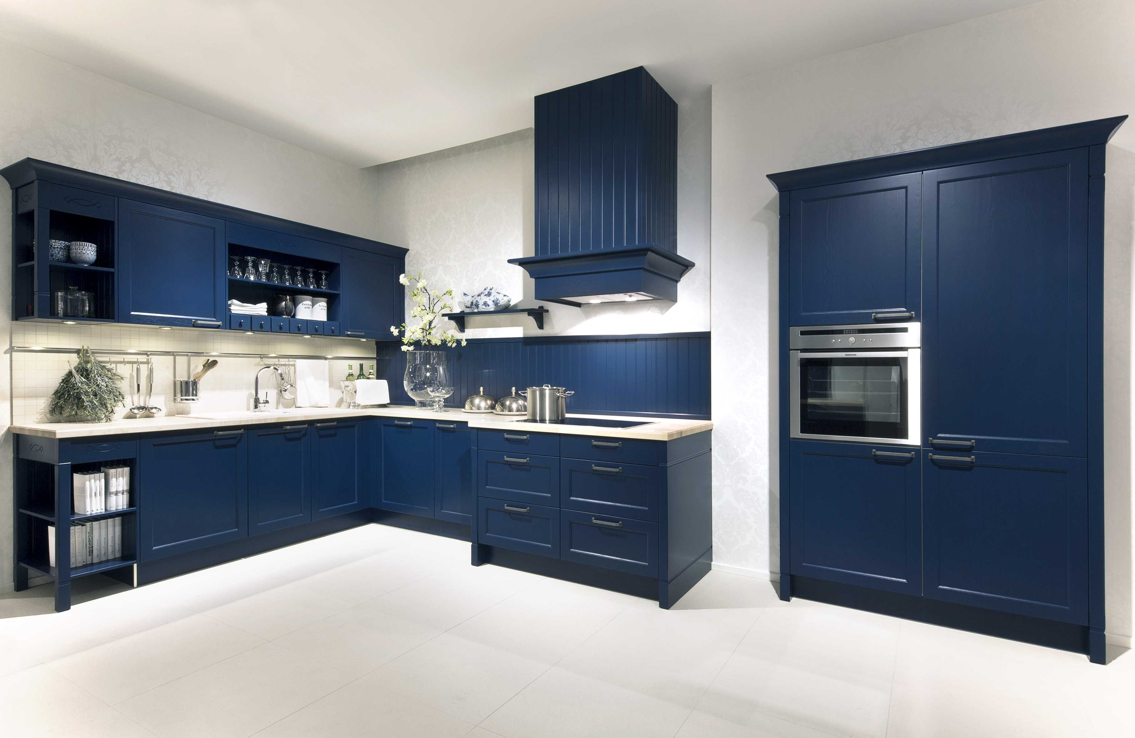 A Classic Door, The Bristol In Midnight Blue. With Charm And Style, Solid  Wood Frames Provide Beautifully Modelled Details.