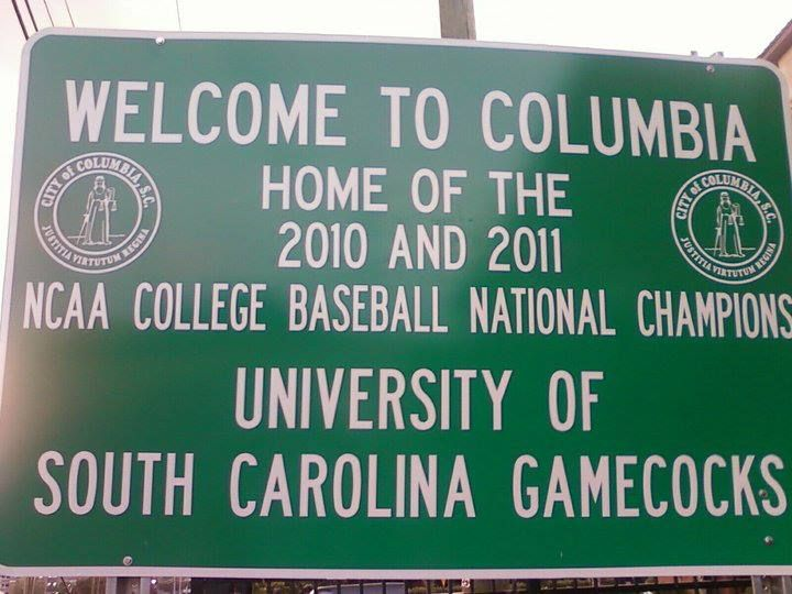 Welcome To Columbia South Carolina Where Gamecocks Are Proud