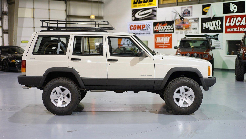 Xj White 52k Stage2 Davis Autosports Jeep Cherokee Xj Jeep