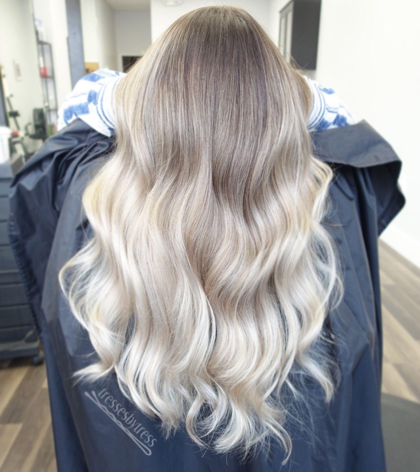 Ash blonde blonde ombr hair pinterest hair ombre hair s ombre hair color - Ombre hair blond selber machen ...