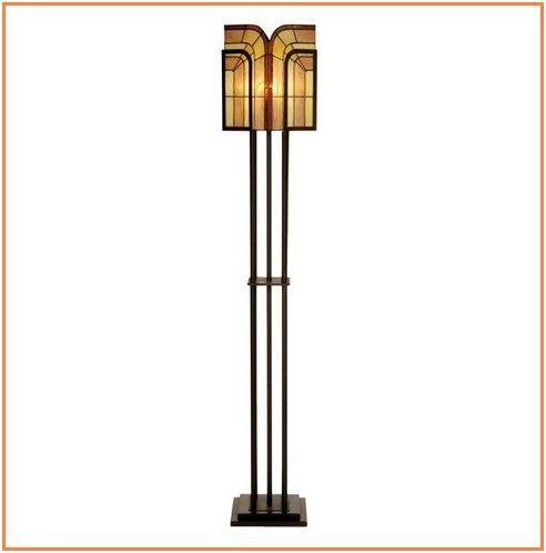 Portentous Antique Brass Floor Lamps