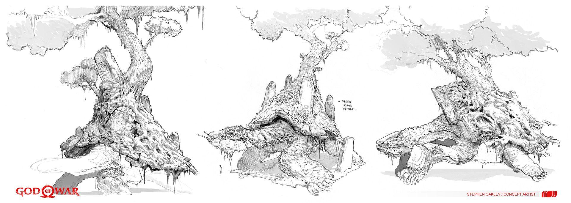 ArtStation World Serpent, Stephen Oakley