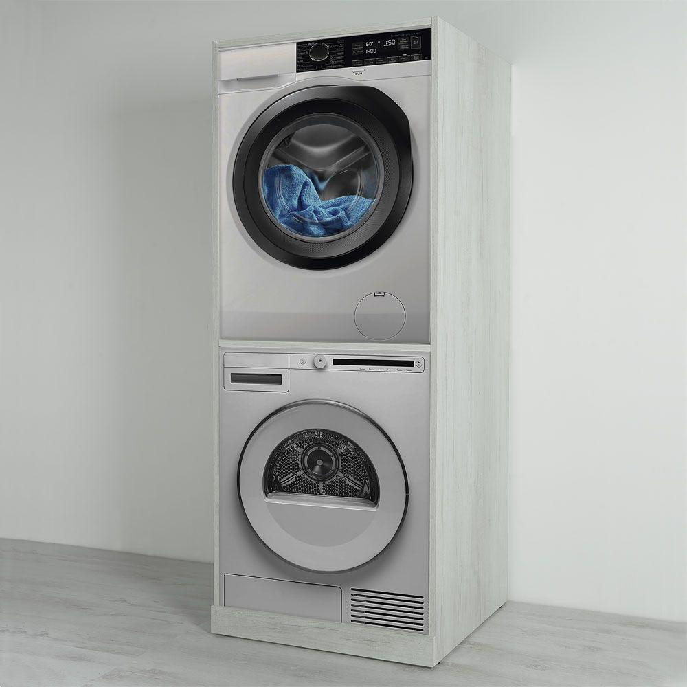 Colonna Per Lavatrice E Asciugatrice colonna lavatrice-asciugatrice unika 70x70 (con immagini