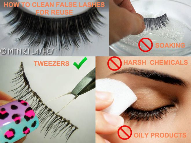 How To Clean False Eyelashes For Reuse – Do's And Don'ts ...