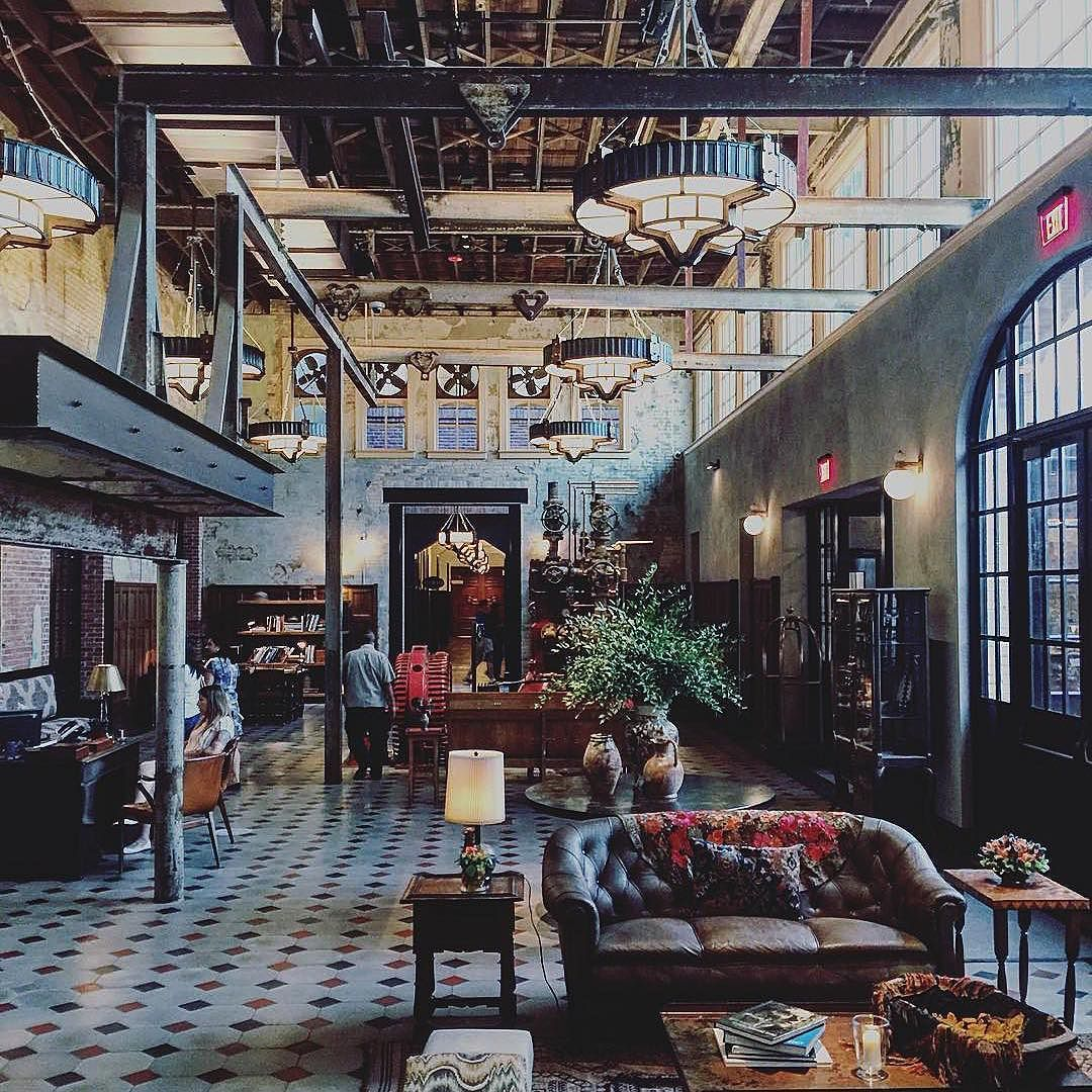 @thehotelemma in San Antonio housed in a 19th century Brewhouse  #regram from @katacalahan #hotelemma