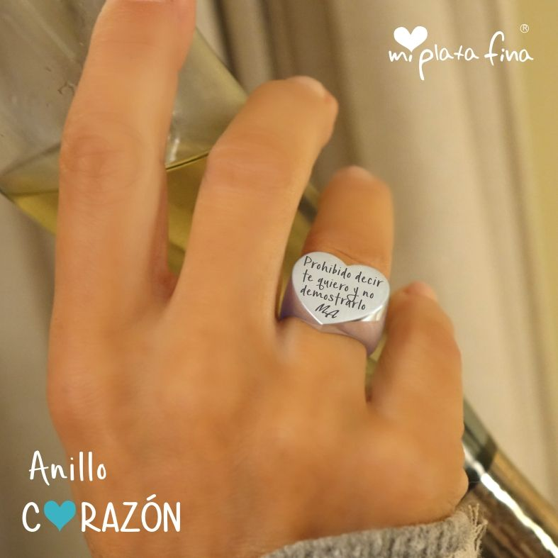 e41bf8eded7b Pulsera de Piel DÍA DEL PADRE   Anillos   Silver Rings, Jewelry y Rings
