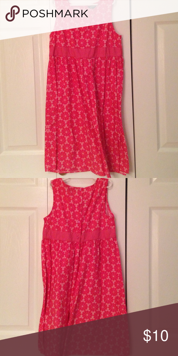 Pink flower dress In great condition and very cute George Dresses