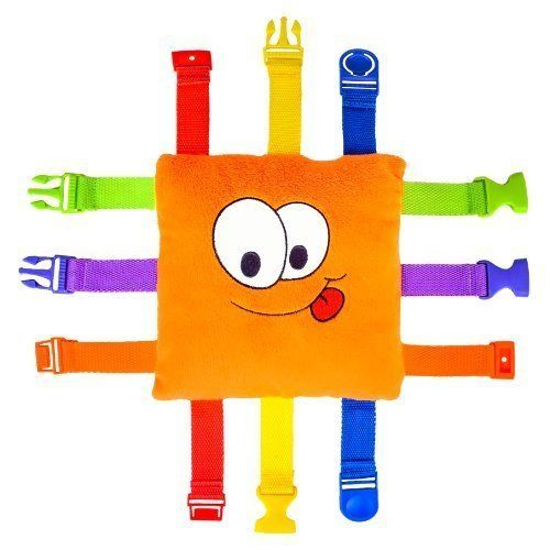 """Buckle Toy """"Bizzy"""" - Toddler Early Learning Basic Life ..."""