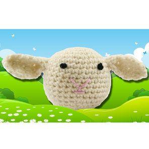 374 Crocheted Lamb (Free)